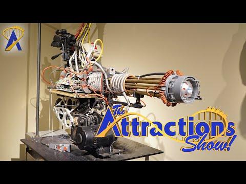The Attractions Show! - Walt Disney Archives Exhibit & Riptide Race Construction