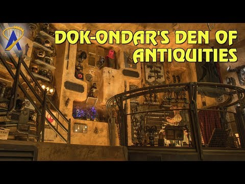 Dok-Ondar's Den of Antiquities at Star Wars: Galaxy's Edge