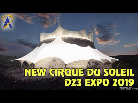New Cirque du Soleil Show Details Revealed at Disney's D23 Expo 2019
