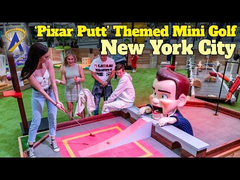 'Pixar Putt' Themed Mini Golf Begins Tour Around the United States