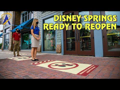 Disney Springs Reopens at Walt Disney World