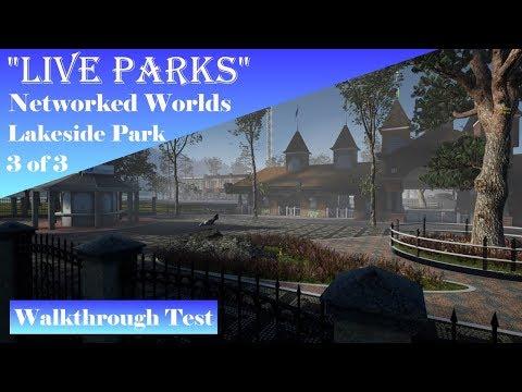 """New """"Live Parks"""" Build! Part 3 of 3: Lakeside Park Walkthrough!"""