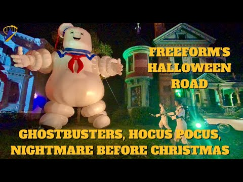 Freeform's Halloween Road Featuring Ghostbusters, Hocus Pocus and Nightmare Before Christmas