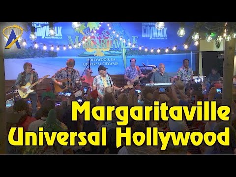 Jimmy Buffett performs at opening of Margaritaville in Universal CityWalk Hollywood