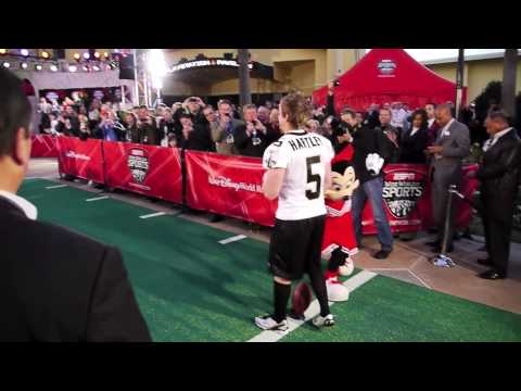 ESPN Wide World of Sports Complex Grand Opening at Disney with New Orleans Saints Garrett Hartley