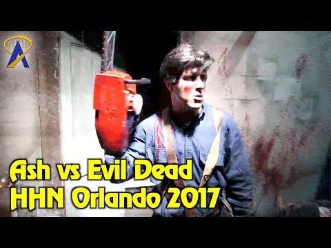 Ash vs Evil Dead highlights from Halloween Horror Nights Orlando 2017