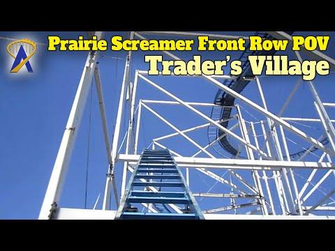 Prairie Screamer Front Row POV at Trader's Village, Texas