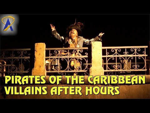 Villain Overlay for Pirates of the Caribbean during Villains After Hours at Magic Kingdom