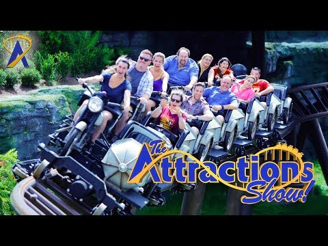 The Attractions Show - Hagrid's Magical Creatures Motorbike Adventure; Villains After Hours; news