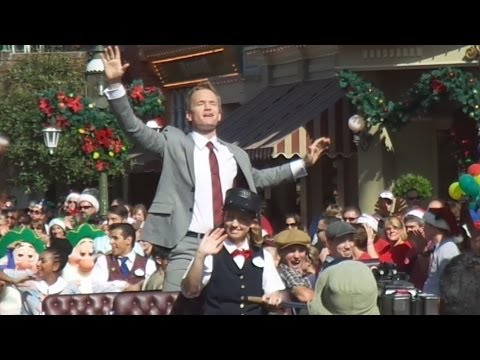 Highlights from day two of filming for the 2013 Disney Parks Christmas Day Parade