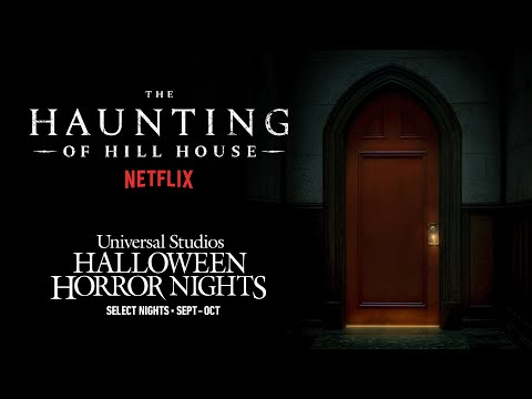 Netflix's The Haunting of Hill House | Halloween Horror Nights 2021