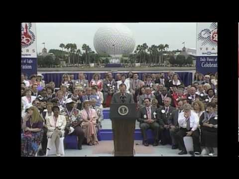 Presidential visits to Walt Disney World through the years