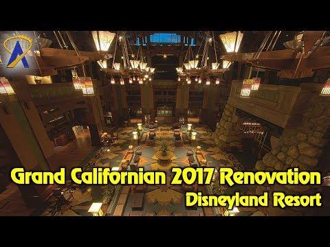 Disney's Grand Californian Hotel & Spa completes hotel-wide renovation at Disneyland Resort