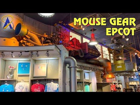 MouseGear Gift Shop Tour at Epcot - 1999-2020