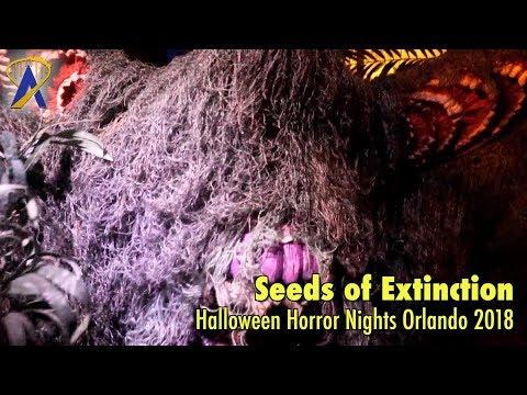 Seeds of Extinction highlights from Halloween Horror Nights Orlando 2018