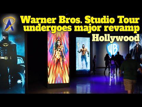 Warner Bros. Studio Tour In Hollywood Gets Major Upgrades