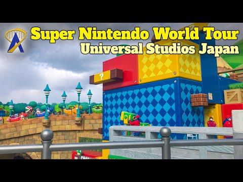 4K Walking Tour Inside Super Nintendo World at Universal Studios Japan