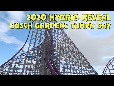 Gwazi Hybrid Coaster Coming 2020 to Busch Gardens Tampa Bay