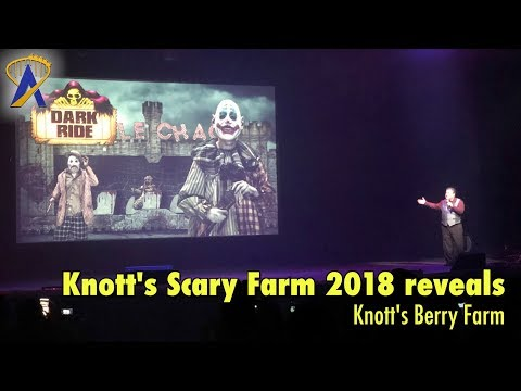 2018 Knott's Scary Farm house reveals and announcements