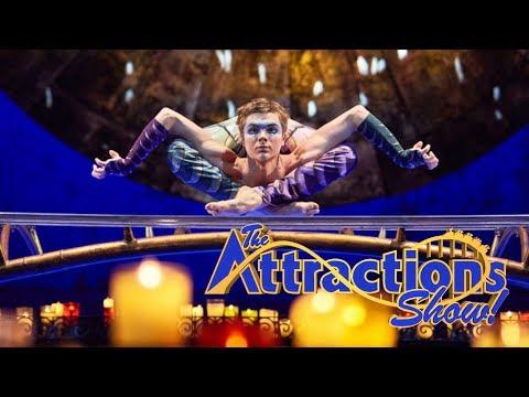The Attractions Show - Cirque du Soleil presents Luzia; Disney Dreamers Academy; latest news