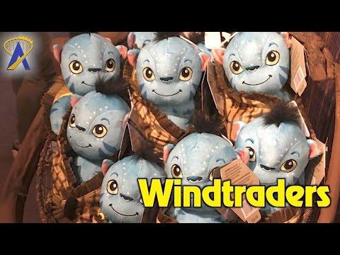Windtraders gift shop inside Pandora - The World of Avatar at Animal Kingdom