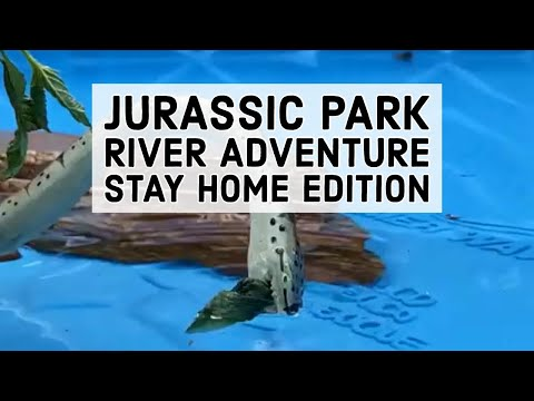 Jurassic Park River Adventure - Stay Home Edition - Islands of Adventure