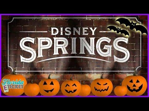 Florida E-Tick-or-Treat - 'Halloween at Disney Springs' - Oct. 22, 2016