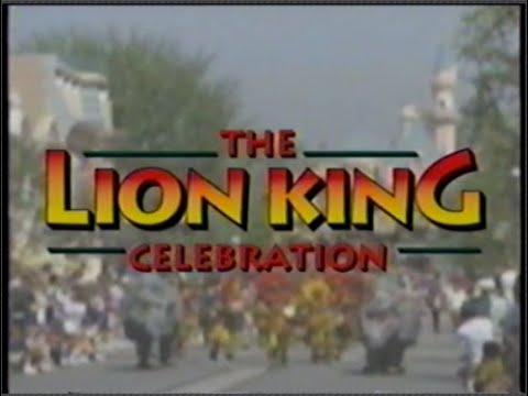 Disneyland presents The Lion King Celebration [VHS/1994]