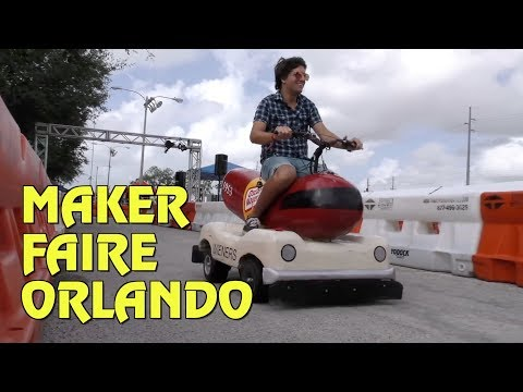 Get Inspired and Inventive at Maker Faire Orlando