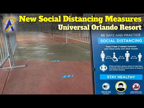 Universal Orlando Modifies Social Distancing, Ride Capacity and Temperature Screenings At Parks