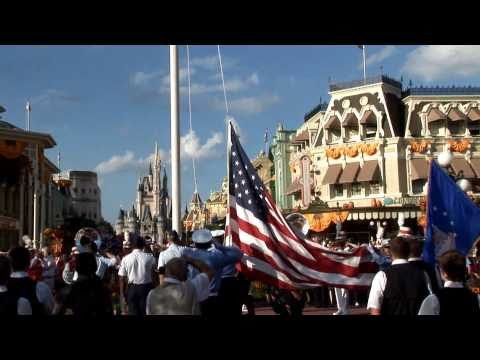 Thunderbirds fly over Disney's Magic Kingdom to start Air Force Week in Florida