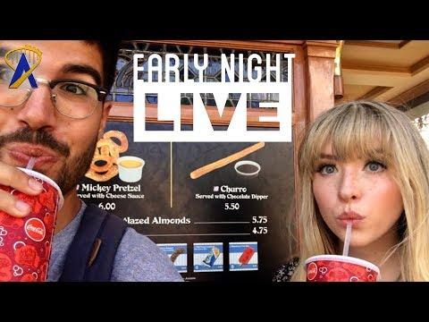 Early Night Live: Snacking Around the Magic Kingdom