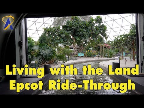 Living With The Land Ride-Through at Epcot