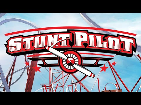 2021 New Coaster - Stunt Pilot   Silverwood Theme Park