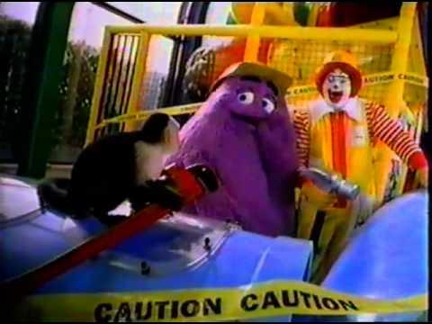 McDonald's Play Place & Disney's Animal Kingdom Toys Ad
