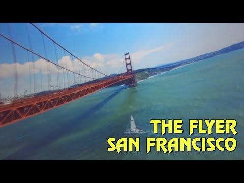 The Flyer FULL POV at San Francisco's Pier 39