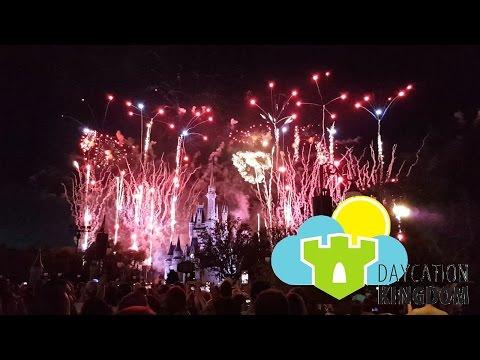 Daycation Kingdom - 'Magic Kingdom 4th of July Fireworks' - Episode 43 - July 4, 2016