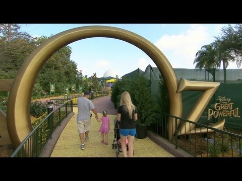 New Land of Oz playground and games at Epcot - Walt Disney World