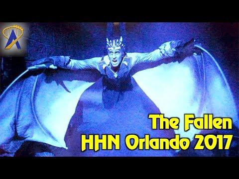 The Fallen highlights from Halloween Horror Nights Orlando 2017