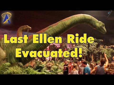 Last Ellen's Energy Adventure Ride Ends in Evacuation and Fans Love It