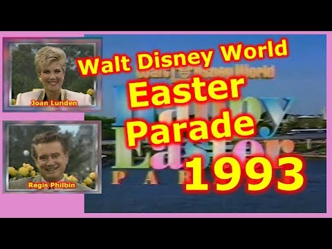 1993 Walt Disney World Happy Easter Parade