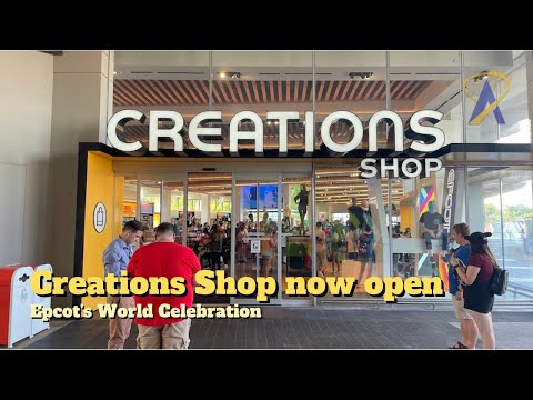 New Creations Shop opens at Epcot