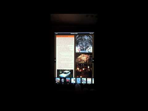 Free Orlando Attractions Magazine iPad app demo - A tour of all the features