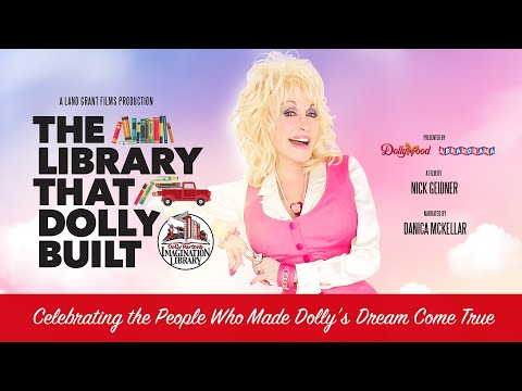 The Library That Dolly Built - Official Trailer (2020) Imagination Library Documentary - Worldwide
