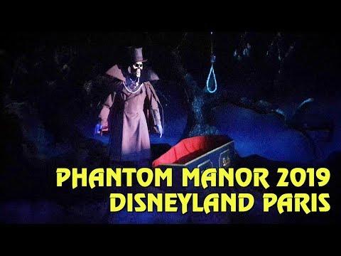 Phantom Manor POV at Disneyland Paris - Original Music Restored