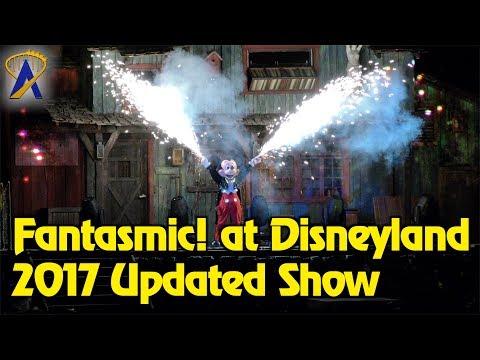 Fantasmic! - Full 2017 Updated Show at Disneyland Park