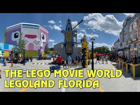 Overview of The LEGO Movie World at Legoland Florida