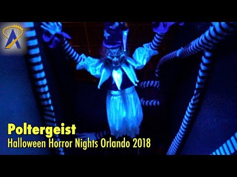 Poltergeist highlights from Halloween Horror Nights Orlando 2018