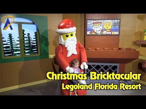 Christmas Bricktacular Legoland Florida holiday event