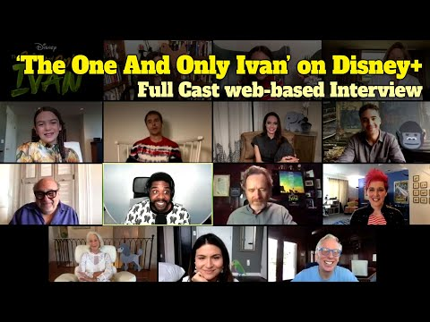 'The One and Only Ivan' Full Cast Web-Based Interview